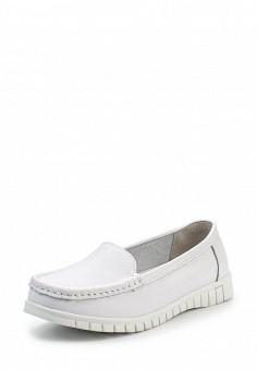 Мокасины, Wilmar, цвет: белый. Артикул: WI064AWRCE17. Женская обувь / Мокасины и топсайдеры