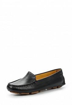 Мокасины, Wojas, цвет: черный. Артикул: WO009AWQWB17. Женская обувь / Мокасины и топсайдеры
