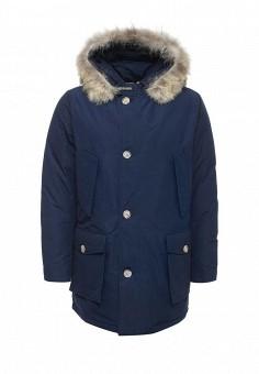 Пуховик, Woolrich, цвет: синий. Артикул: WO256EMKWT26. Мужская одежда / Верхняя одежда / Пуховики и зимние куртки