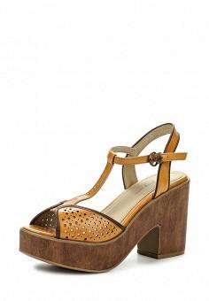 Босоножки, You Young Coveri, цвет: коричневый. Артикул: YO008AWQEK72. Женская обувь / Босоножки