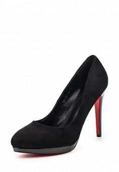 Туфли, Zenden Woman, цвет: черный. Артикул: ZE009AWPRF51. Zenden Woman