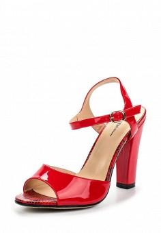 Босоножки, Zenden Woman, цвет: красный. Артикул: ZE009AWQQF82. Zenden Woman