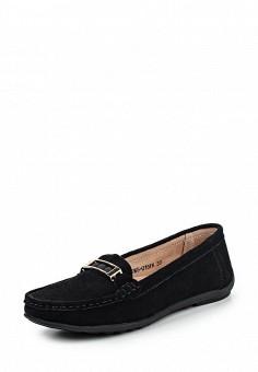 Мокасины, Zenden Comfort, цвет: черный. Артикул: ZE011AWPMA41. Женская обувь / Мокасины и топсайдеры