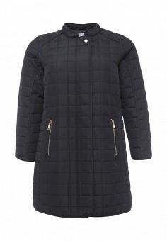 Куртка утепленная, Zizzi, цвет: черный. Артикул: ZI007EWSAI07. Женская одежда / Верхняя одежда / Демисезонные куртки