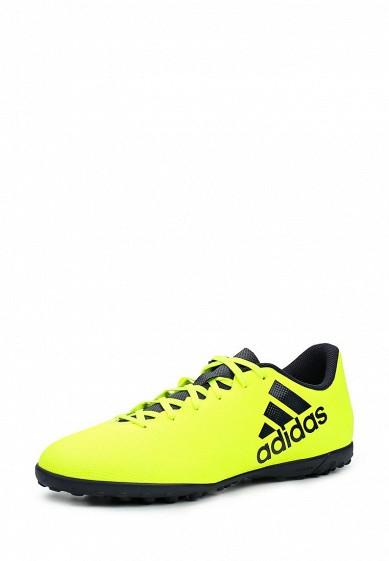 Купить Шиповки adidas Performance X 17.4 TF желтый AD094AMUOX82 Индонезия
