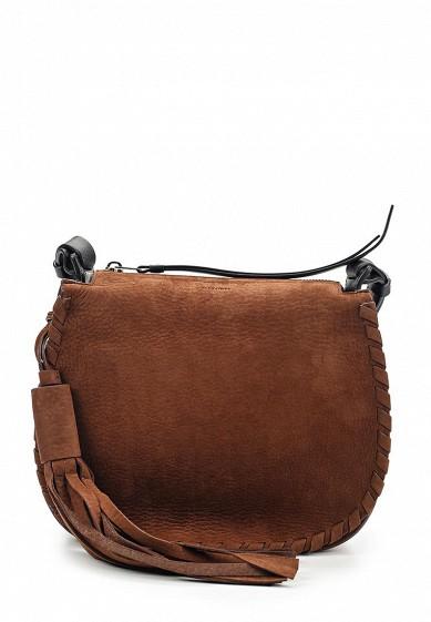 Купить Сумка AllSaints MORI CROSSBODY коричневый AL047BWUSS29 Вьетнам