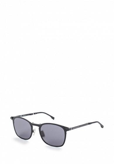 Купить Очки солнцезащитные Boss Hugo Boss BOSS 0942/S 003 черный BO010DMYCC55 Китай