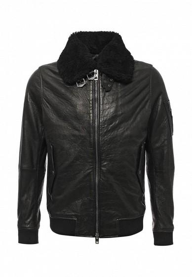 Купить Куртка кожаная Boss Orange черный BO456EMTQE50 Шри-Ланка