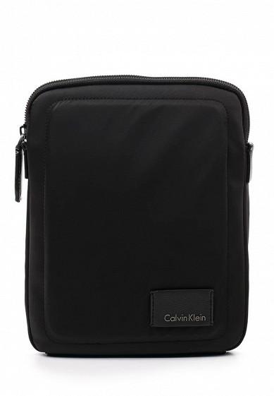 Купить Сумка Calvin Klein Jeans ILAY NYLON FLAT CROSSOVER черный CA939BMWCC28 Китай