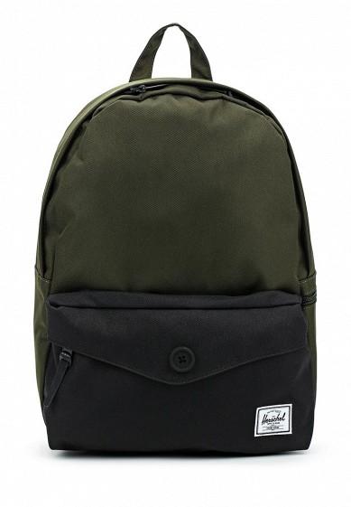 Купить Рюкзак Herschel Supply Co Sydney Mid-Volume зеленый HE013BUWJP95 Китай