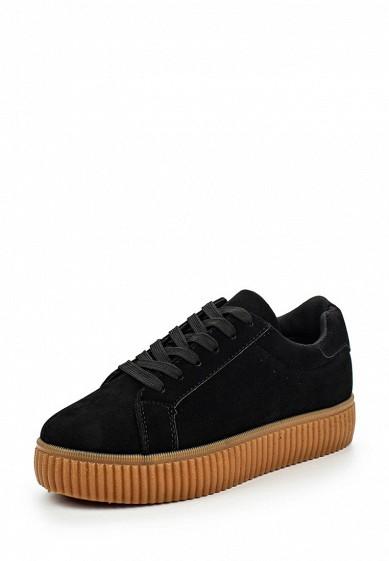 Кеды Ideal Shoes черный ID005AWPSL70 Китай  - купить со скидкой