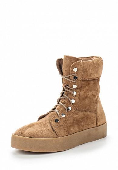 Купить Ботинки Ideal Shoes коричневый ID005AWVUG47 Китай
