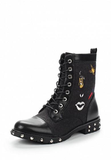 Купить Ботинки Ideal Shoes черный ID005AWVUG93 Китай