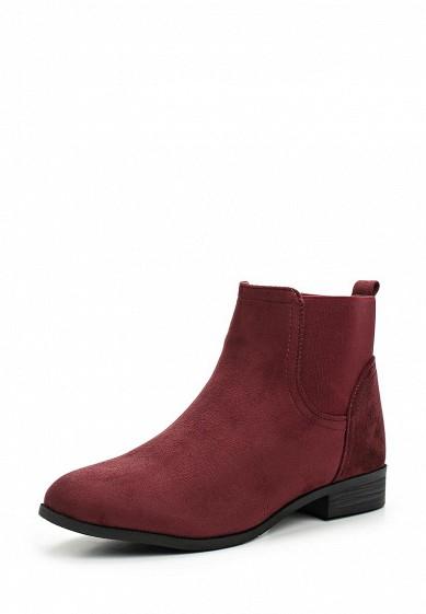 Купить Ботинки Ideal Shoes бордовый ID007AWWEI30 Китай