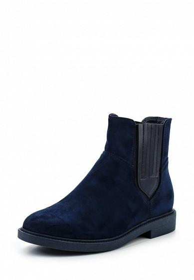 Купить Ботинки Ideal Shoes синий ID007AWWEI38 Китай
