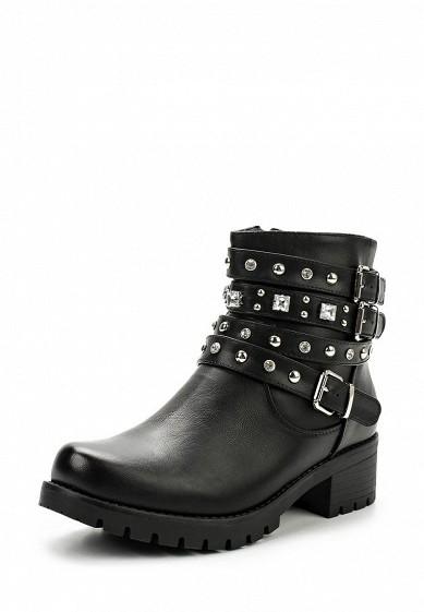 Купить Ботинки Janessa черный JA026AWXIM40 Китай