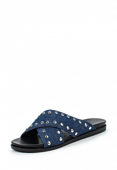 Шлепанцы LOST INK CAIN STUDDED SLIDER