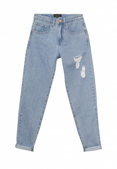 Джинсы LOST INK MOM JEAN IN BLOSSOM WASH WITH RIPS