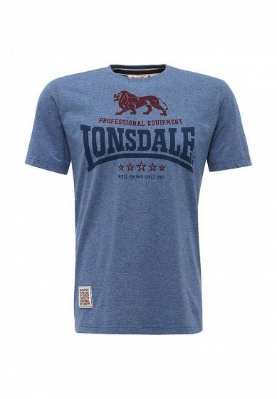 Купить Футболка Lonsdale синий LO789EMYBR29 Россия