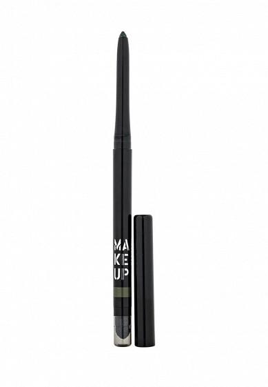 Карандаш Автоматический контурный для глаз Automatic Eyeliner тон 11 зеленая луна Make Up Factory MA120LWHDR37  - купить со скидкой