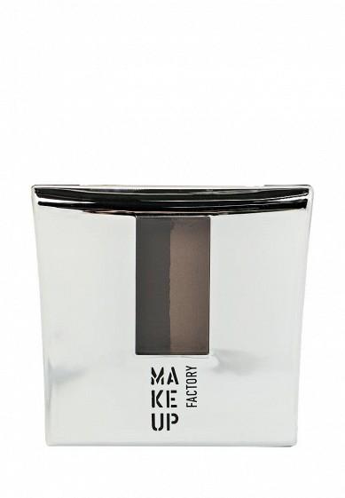 Тени-пудра для бровей с трафаретом Eye Brow Powder тон 1 интенсивный коричневый Make Up Factory MA120LWHDR48  - купить со скидкой