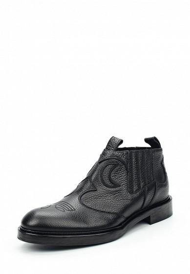 Купить Ботинки McQ Alexander McQueen черный MC010AWTDB09 Италия