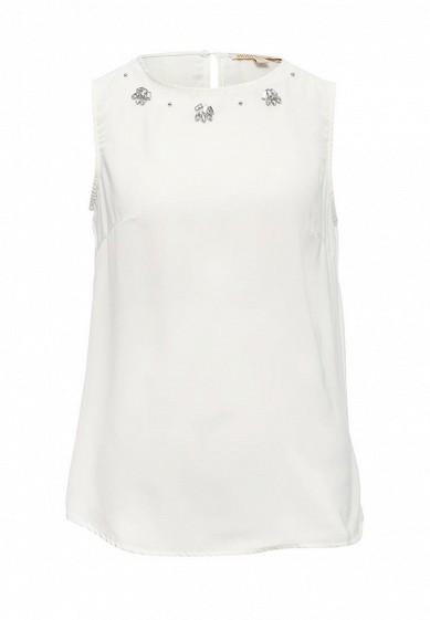 Блуза Modis белый MO044EWSBJ19  - купить со скидкой