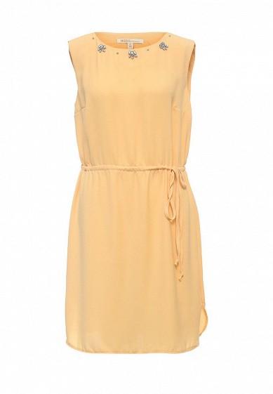 Платье Modis желтый MO044EWSBJ47  - купить со скидкой