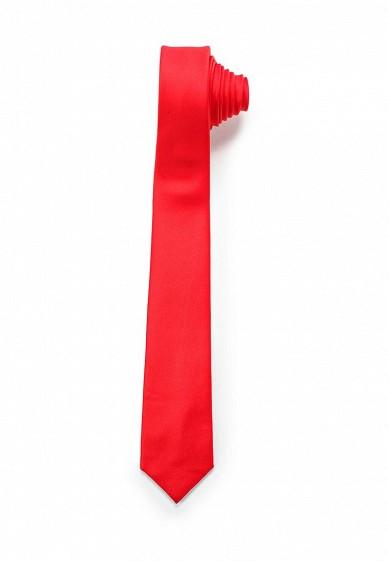 Галстук Casino красный MP002XM0W4T5 ЕС  - купить со скидкой