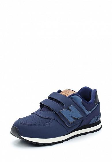 Купить Кроссовки New Balance синий NE007ABUOJ29 Вьетнам