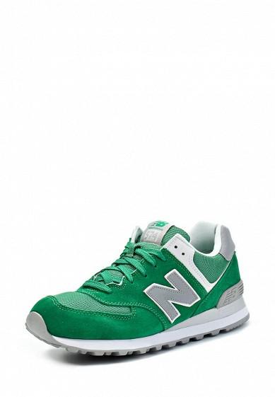 Кроссовки New Balance ML574 зеленый NE007AMGH128 Индонезия  - купить со скидкой