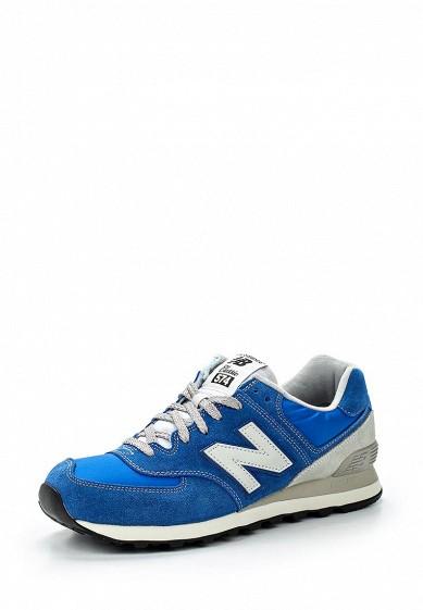 Кроссовки New Balance ML574 синий NE007AMGIZ01 Вьетнам  - купить со скидкой