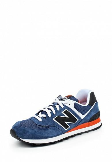 Кроссовки New Balance ML574 синий NE007AMPED24 Вьетнам  - купить со скидкой
