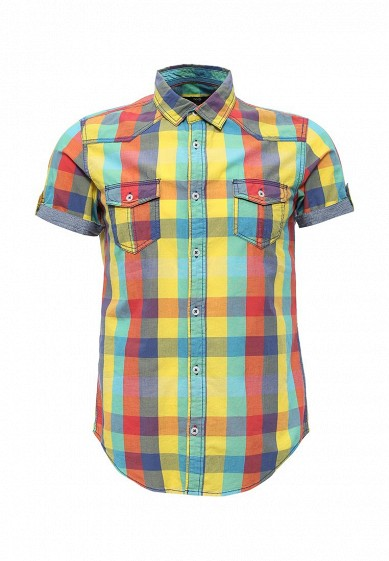 Рубашка oodji мультиколор OO001EMISO93  - купить со скидкой