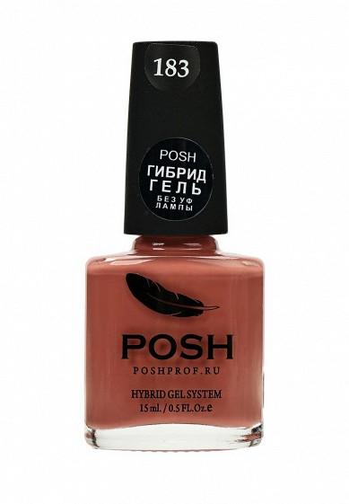 Купить Гель-лак для ногтей Posh Гибрид без УФ лампы Тон 183 Внутреннее Спокойствие розовый PO021LWXZL12 Россия