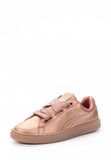 Купить Кеды Puma Basket Heart Copper Wn s розовый PU053AWUZD38 Вьетнам