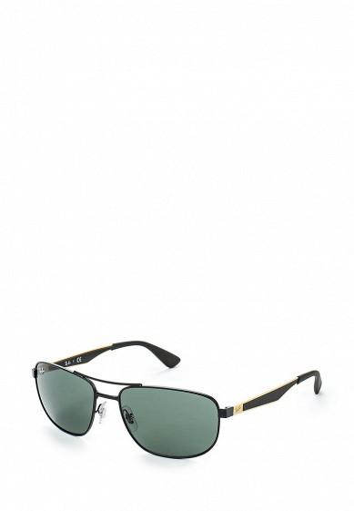 Очки солнцезащитные черный RA014DMHXF68 Италия  - купить со скидкой