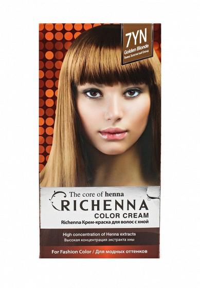 Richenna Крем-краска для волос с хной № 5MB (Dark Mahogany)