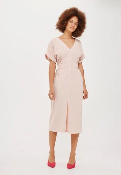 Купить Платье Topshop розовый TO029EWVQP55 Румыния