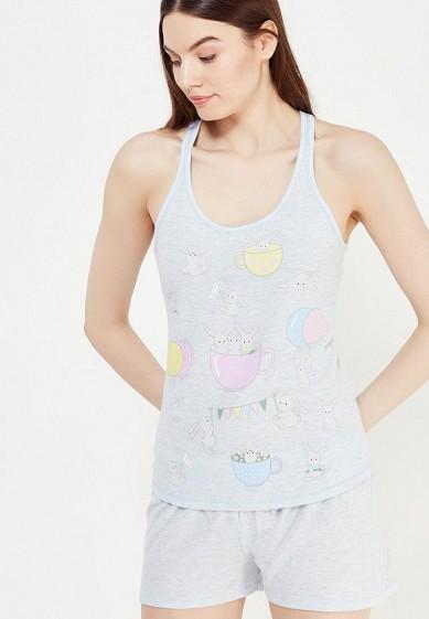 Пижама ТВОЕ голубой TV001EWUNA33  - купить со скидкой