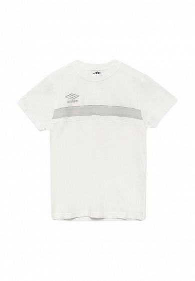 Футболка SMART COTTON TEE Umbro белый UM463EKUJG41  - купить со скидкой