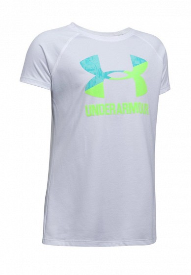 Купить Футболка Under Armour UA Solid Big Logo SS T-WHT UN001EGXVT58