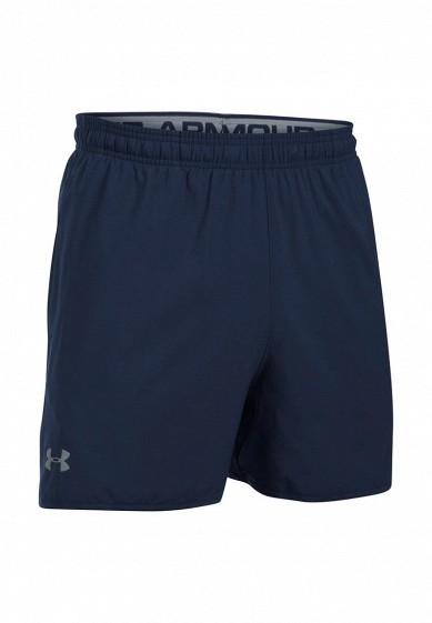 Купить Шорты спортивные Under Armour UA QUALIFIER 5'' WOVEN SHORT синий UN001EMXRW89 Малайзия