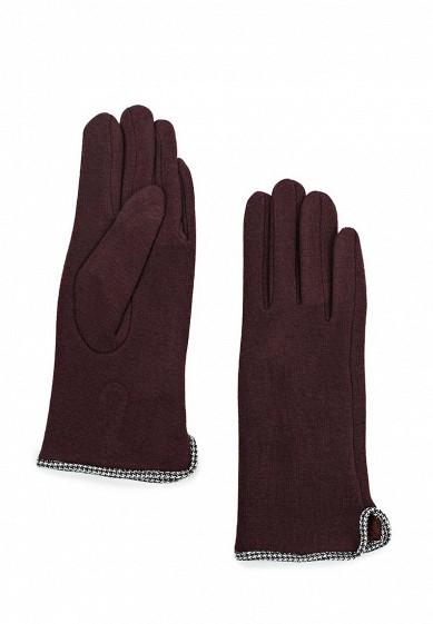 Перчатки Venera бордовый VE003DWXSH81 Италия  - купить со скидкой