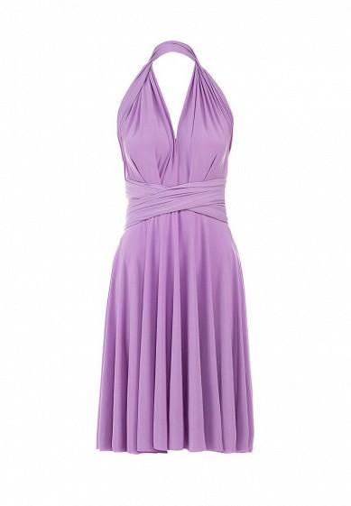 Летние платья сиреневого цвета