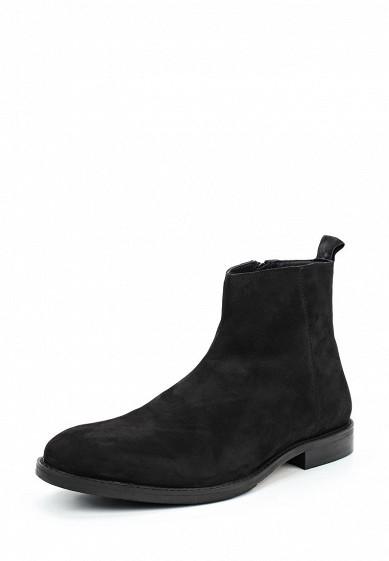 Купить Ботинки Zign черный ZI469AMWBL20 Индия