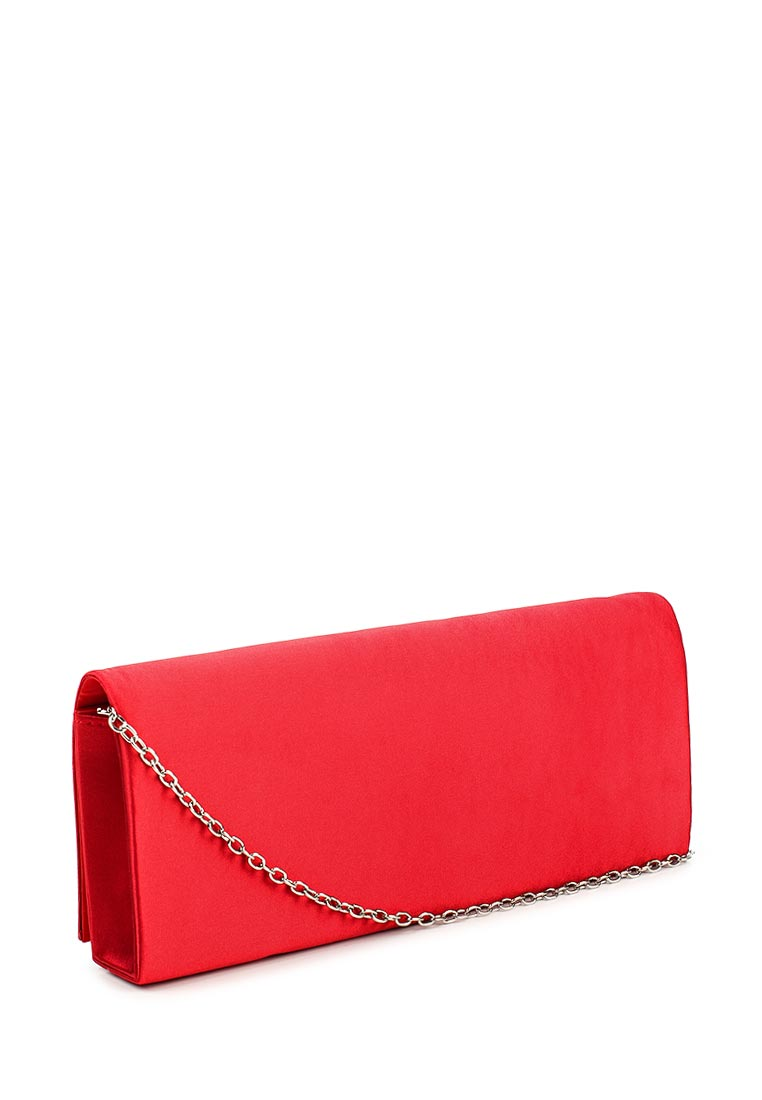 Женская сумочка клатч красного цвета Karya - кожаные