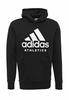 Худи, adidas Performance, цвет: черный. Артикул: AD094EMUOF19. adidas Performance