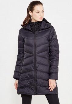 Пуховик, adidas Performance, цвет: черный. Артикул: AD094EWUOG76. Женская одежда / Верхняя одежда / Пуховики и зимние куртки