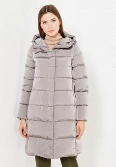 Пуховик, Add, цвет: серый. Артикул: AD504EWTCZ49. Премиум / Одежда / Верхняя одежда / Пуховики и зимние куртки